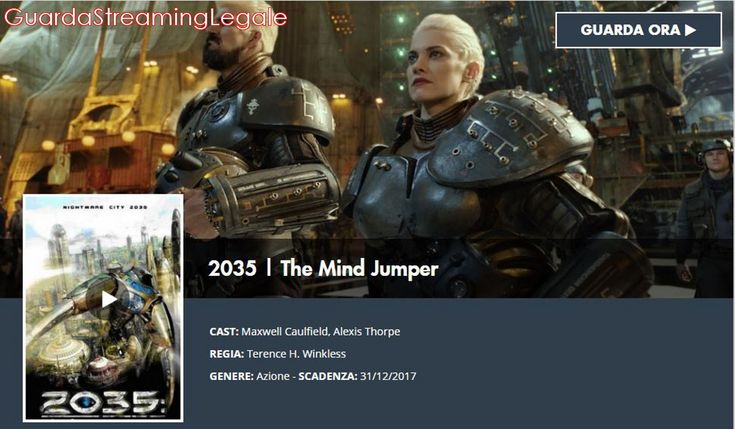 2035 – The Mind Jumper (2007) Fil Streaming Completo Hd