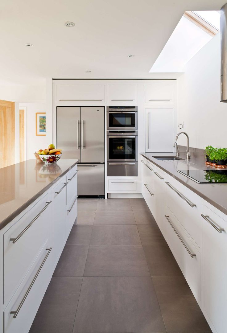 Designed by MOLE Architects the aim of the project was the refurbishment of an existing unprepossessing 2-bedroom 1960's Bungalow in the village of Over, Cam...