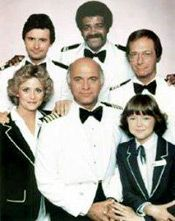 The Love Boat  - watched this on Saturday Nights while babysitting after kids went to bed.  Then...da plane da plane.