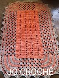 Resultado de imagem para graficos de tapetes retangular em croche