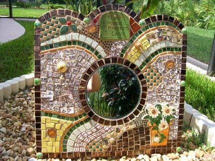 Декор своими руками: рамки для зеркал из мозаики и воспоминаний