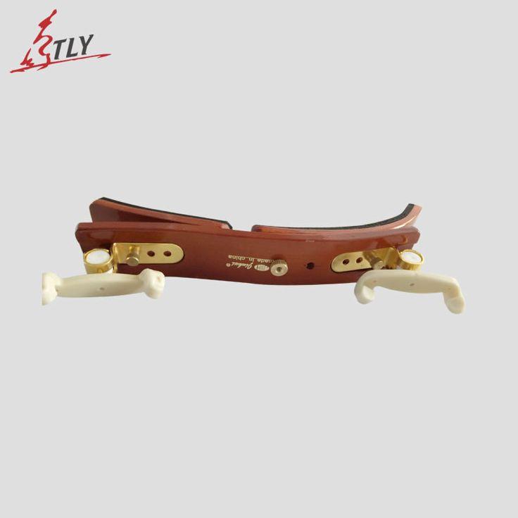 TONGLING Violin Shoulder Rest High Grade Hardwood Brass Violin Shoulder Pad Professional Violin Accessories 4/4 3/4