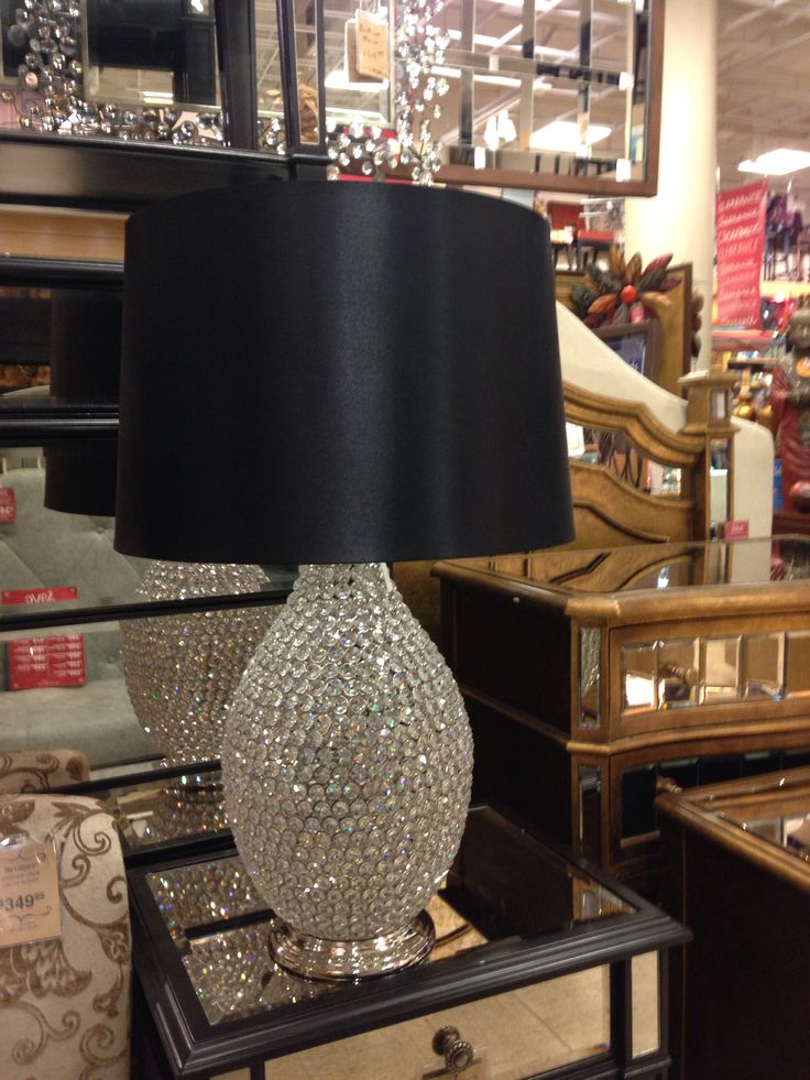 Pier One lamp - one of the spare bedrooms