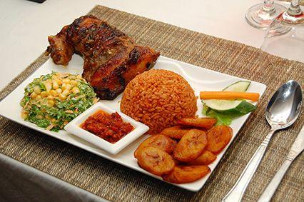 Jellof Rice Platter