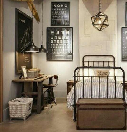 Boys Bedroom RHS