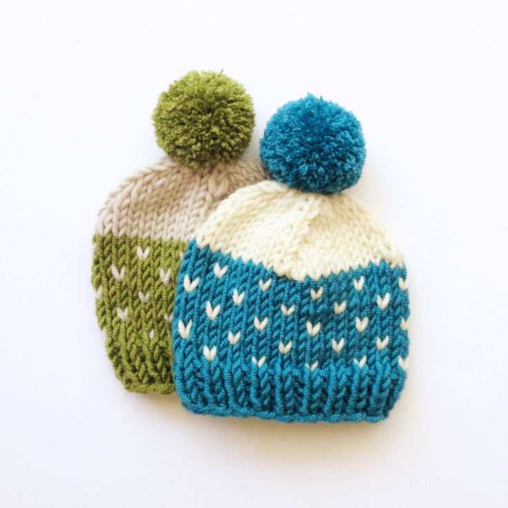 It's the perfect fall pompom hat! Make it with super soft Lion's Pride Woolspun!