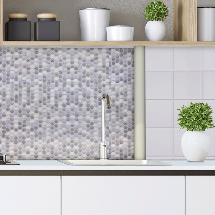 Create Your World Ltd On Instagram Our New Hexagontile 3d Wallpaper This Versatile Covering Can Cover Old Fl 3d Wallpaper Washable Wallpaper Tile Wallpaper