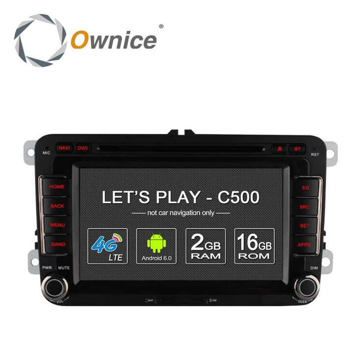 Ownice android 6.0 4 nucleo 32g rom dvd player do carro para for volkswagen for Passat POLO GOLF for Skoda Seat Leon Com GPS  #Affiliate
