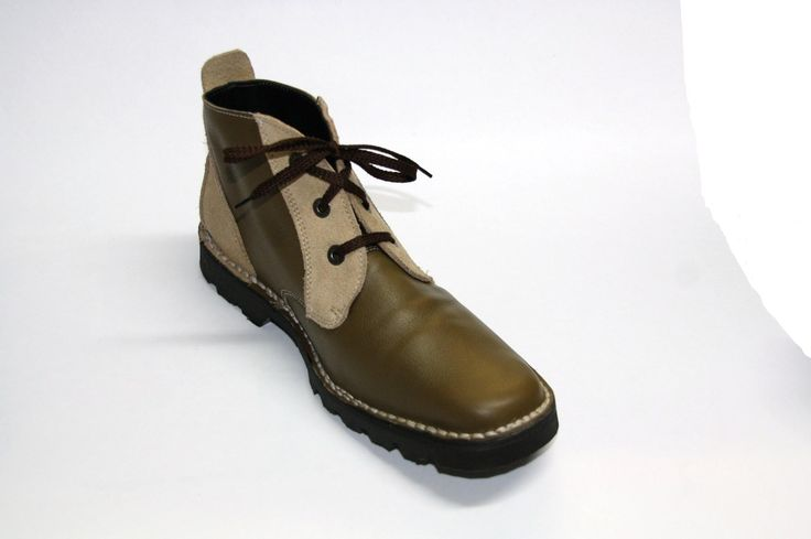 Comfortable lace up boot made in any leather