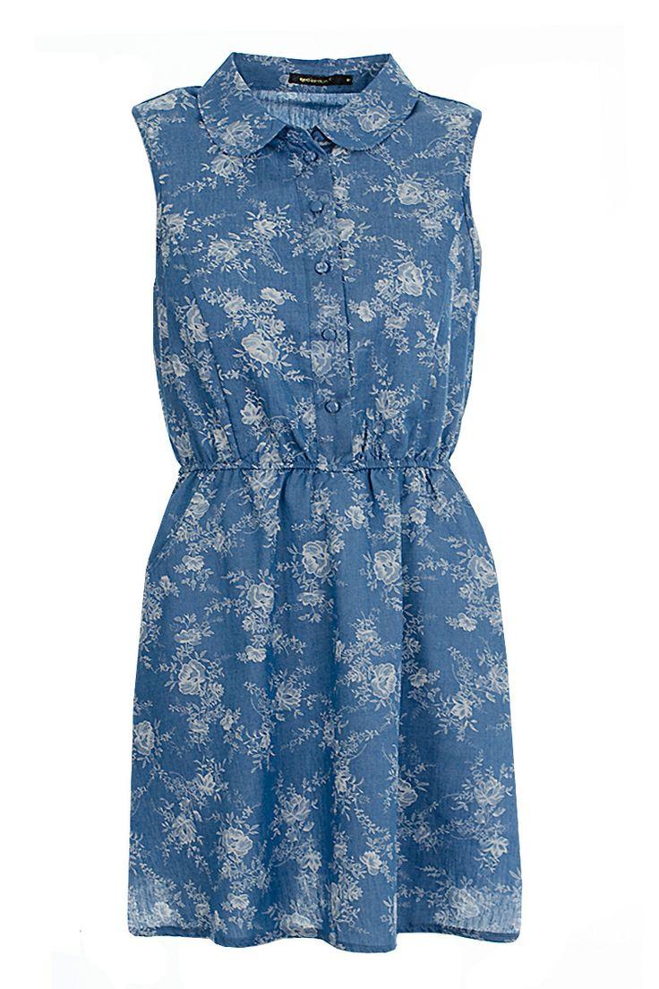 http://www.fuchia.co.uk/bethany-floral-print-denim-tea-dress.html