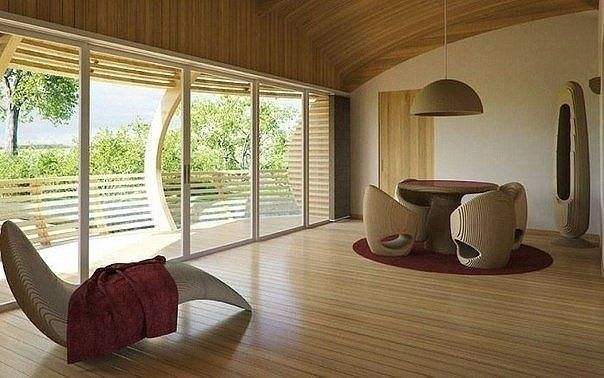 Плавучий дом в тихой заводи: идеальный вариант для отдыха на выходных - Дизайн интерьеров | Идеи вашего дома | Lodgers