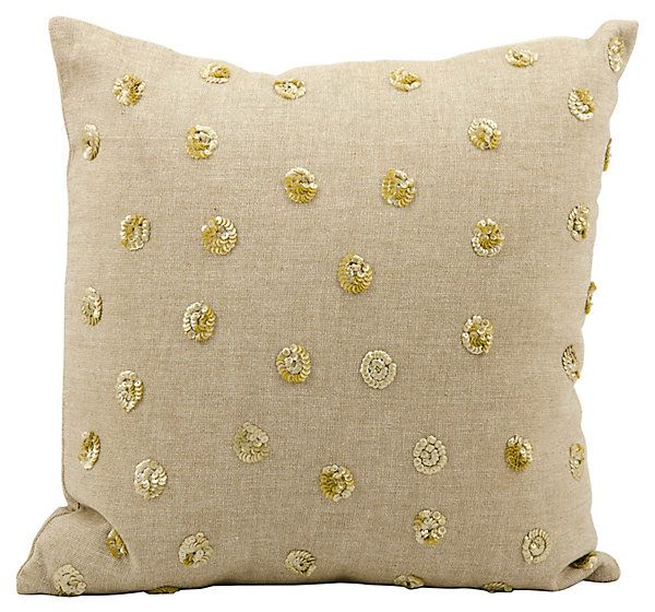 Luminescence 16x16 Pillow, Beige | Cool
