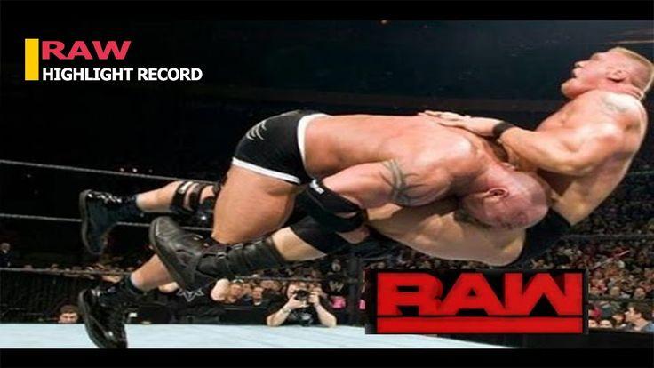 RAW HIGHLIGHT RECORD FULL SHOW: BROCK LESNAR VS GOLDBERG   WWE RAW 15 NOVEMBER 2016