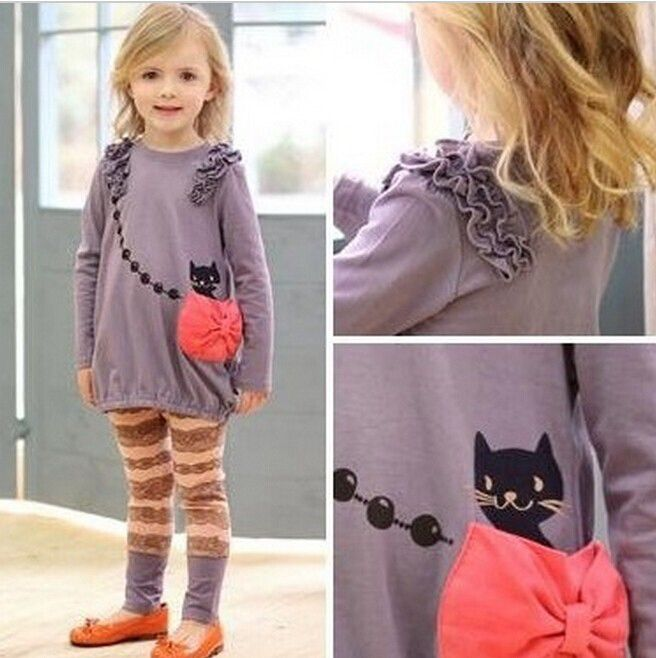 Cute decor- cat in pocket