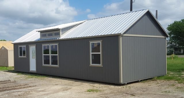 Wolfvalley Buildings  Storage Shed Blog.: 16'x40' Beautiful Dormer Cabin,Lake House,Portable...