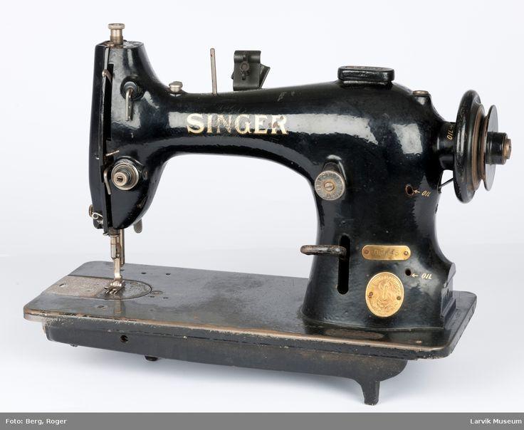 DigitaltMuseum - Symaskin