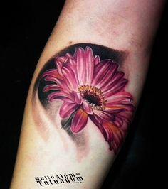 Image result for gerbera tattoo