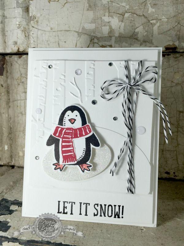 Snow Place stamp set, Snow, Stampin' Up! - StampinByTheSea.com