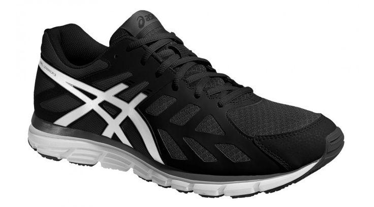 Asics futócipő Gel-Zaraca 3 férfi, fekete,fehér T4D3N-9900