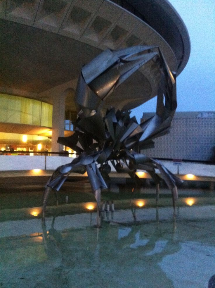 The famous CRAB at The Planetarium/Museum of Vancouver(MOV) in Vancouver BC