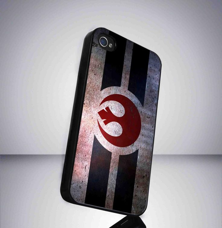 Rebelion symbol Starwars movie iPhone 5 BLACK case
