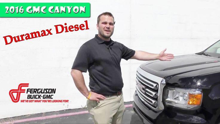 2016 Duramax Diesel GMC Canyon mid-sized truck
