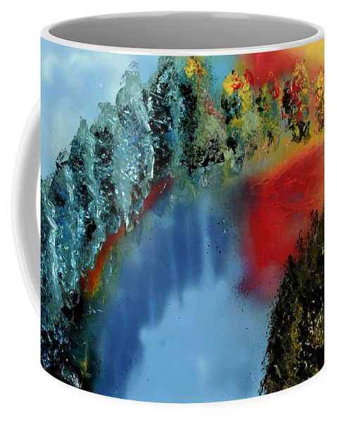 Printed with Fine Art spray painting image River Of Colors Nandor Molnar (When you visit the Shop, change the size, background color and image size as you wish)