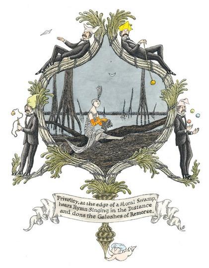Edward GoreyEdward Gorey With, The Edging, Google Search, Remorse, Gorey Art, Edward Goreywith, Hearing Hymns, Morale Swamp, Galoshes