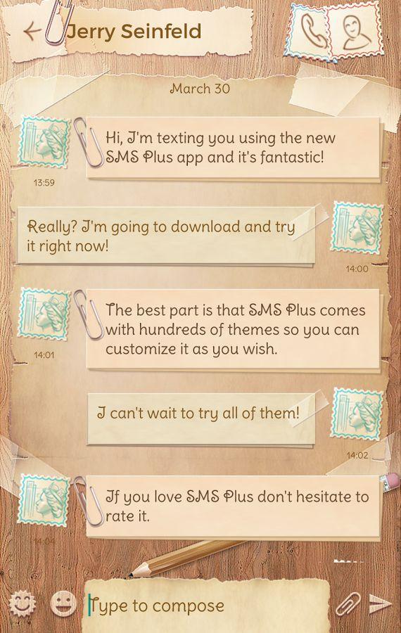 SMS Plus Vintage Theme- screenshot