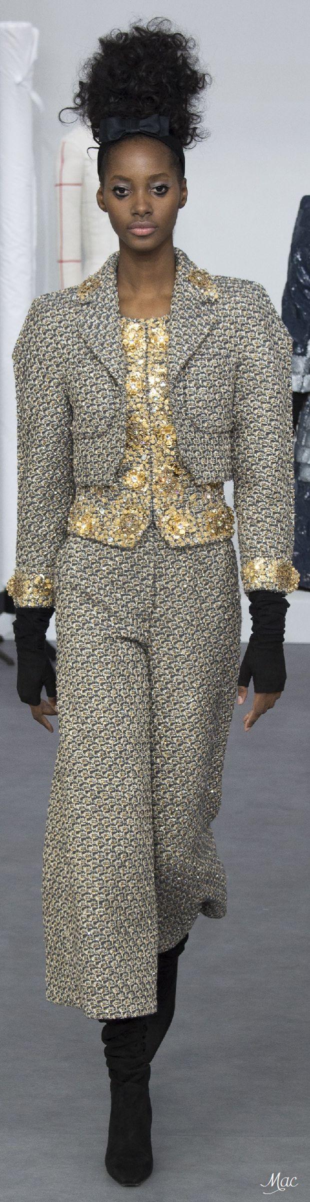 Fall 2016 Haute Couture - Chanel                                                                                                                                                      More
