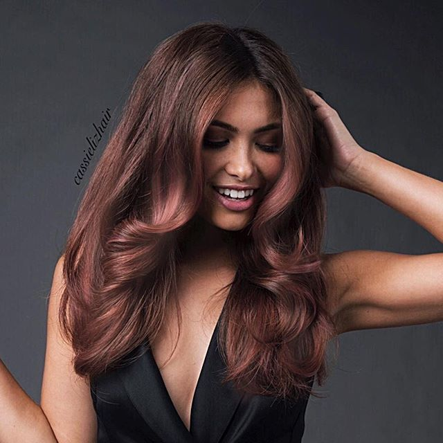 Warm Bronde Remember The Rose Gold A Few Posts Ago Well Brown Hair Colorsfall
