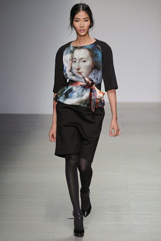 Jean-Pierre Braganza Fall 2014 Ready-to-Wear Collection Slideshow on Style.com
