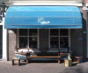 Eten bij Werelds! Een restaurant aan de Avenue Culinaire, op de Bierkade in Den Haag