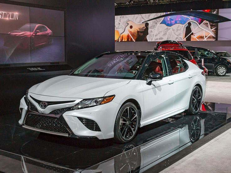2018 Toyota Camry: New take on an old standby - Kelley Blue Book  This Camry is looking sweeter than ever! Read on about the new upgrades.