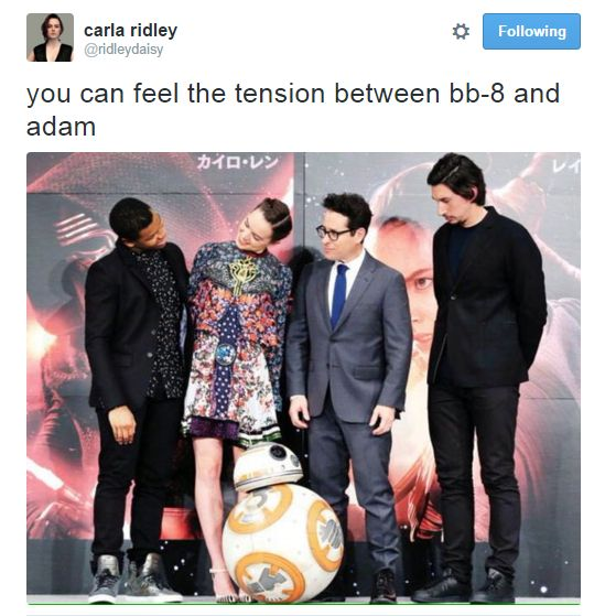Kylo Ren's fiercest opponent is actually BB-8.