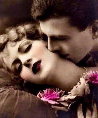 vintage kiss Mais
