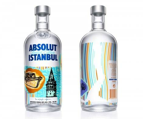absolut istanbul limited edition