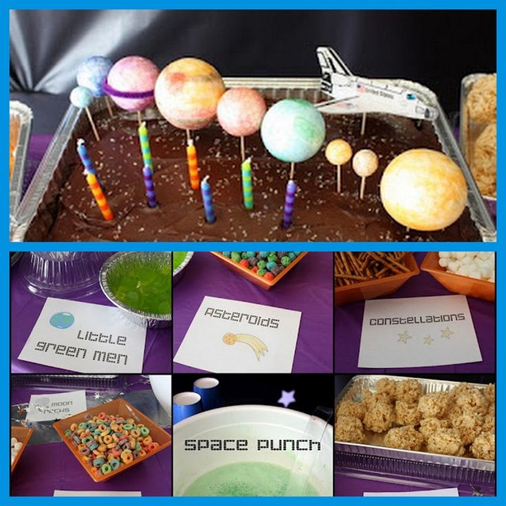 space-food-for-a-space-party.jpg  make constellations with pretzel rods & marshmallows.