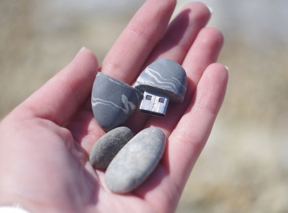 Beautiful Stone Style Flash Drive #duplication #easyreplication #USBDrives https://www.easyreplication.co.uk/