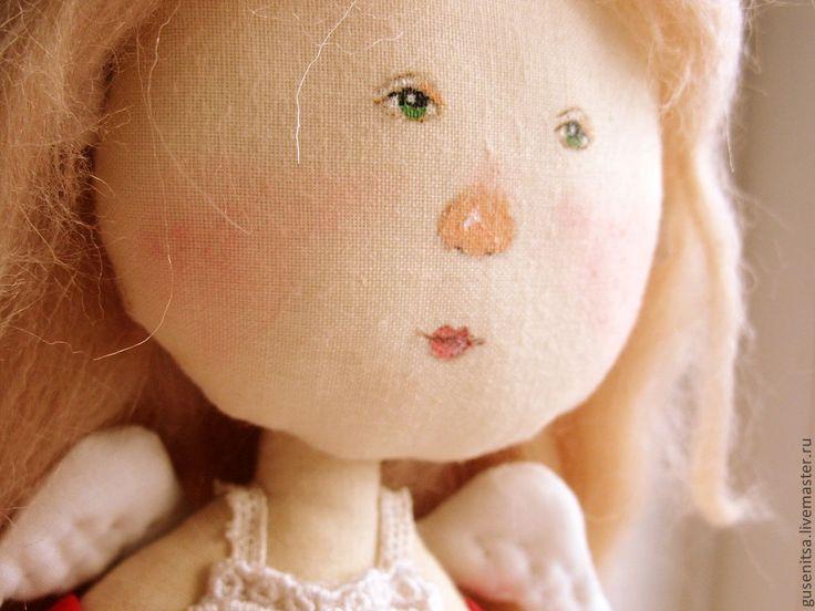 """Купить """"У каждой девочки свой сад"""". - оригинальный подарок, текстильная кукла, гапчинская, девочка"""