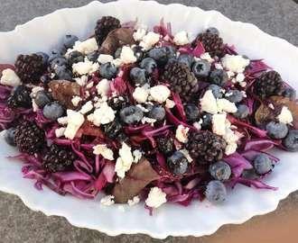 Salat til vildtopskrifter