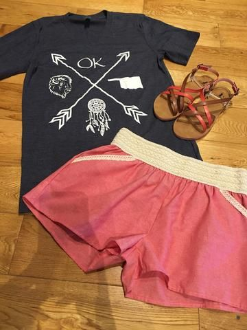 Cross Arrow Oklahoma Shirt