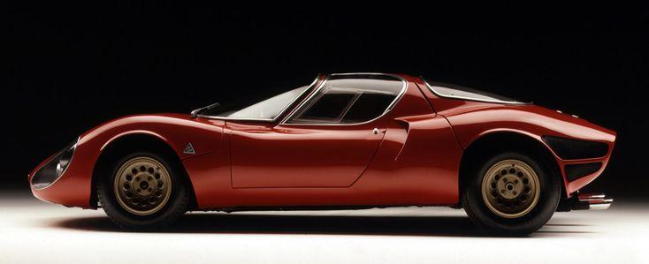 Berlinetta Aerodinamica Tecnica: Alfa Romeo's B.A.T. mobiles - News & Stories at STYLEPARK