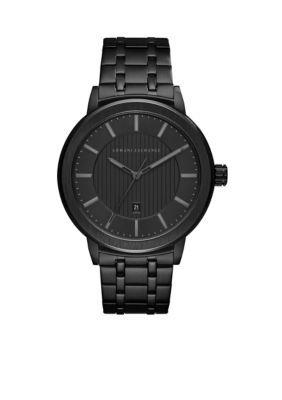 Armani Exchange Ax Men's Men's Black Stainless Steel Street Watch - Black - One Size