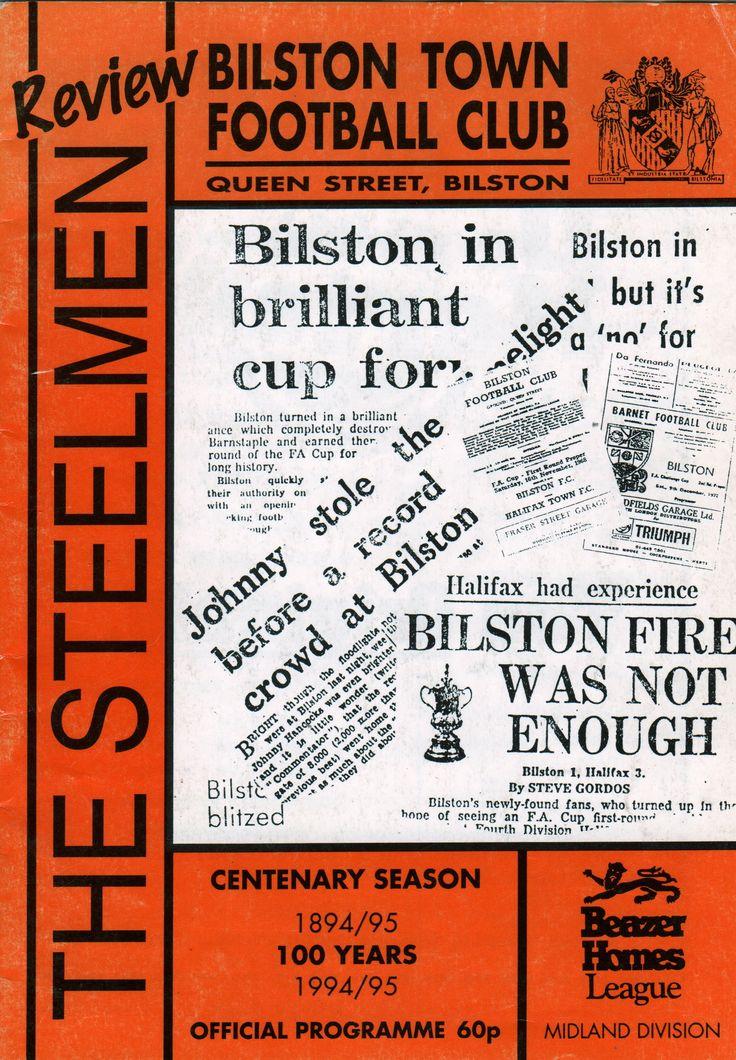 Bilston Town Football Club in West Midlands, West Midlands