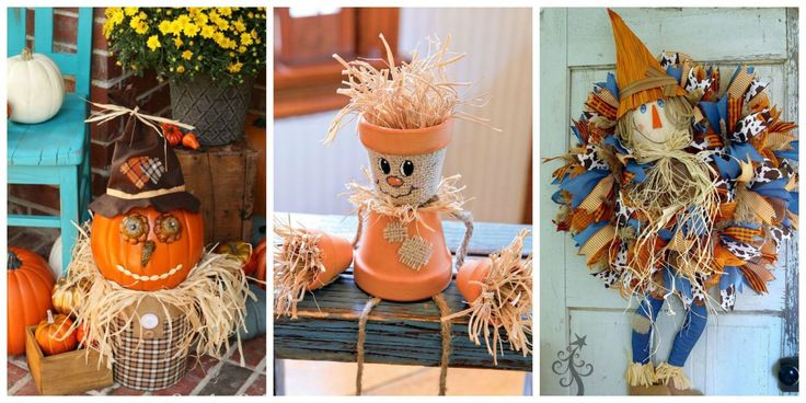 11 Crafty Scarecrows for a More Festive Home This Fall  - CountryLiving.com