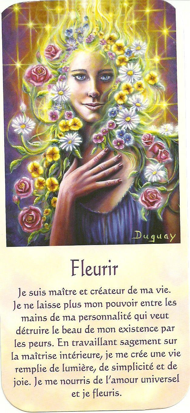 Mario Duguay- Message d'éveil Fleurir