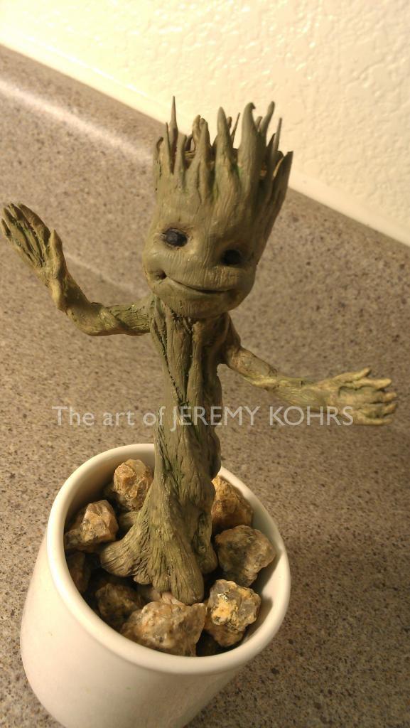 Dancing Baby Groot by JMKohrs