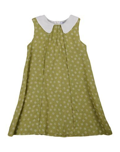 LE NOUVEAU NE' Girl's' Dress Military green 3 years