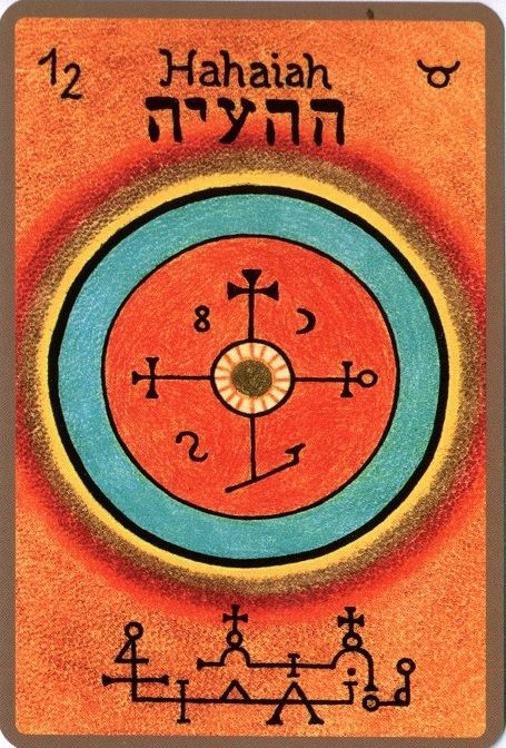 HAHAIAH,Le protecteur Est votre Ange gardien si vous êtes né(e) entre le 16 et le 20 mai Nom céleste: HAI Il est le 12 ange et le 4eme ange appartenant au 2eme chœur, celui des chérubins Il est s…